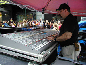 professional sound reinforcement service